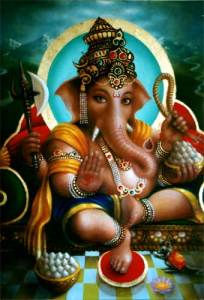 Image of the Hindu god Ganesha