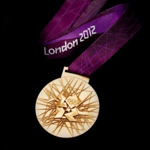 London 2012 Olympic gold medal, free will